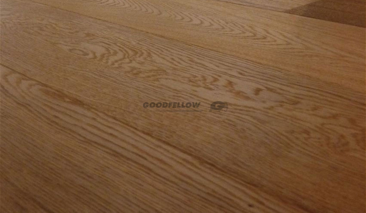 Oak Millrun 3-layer Brushed+UV Oiled